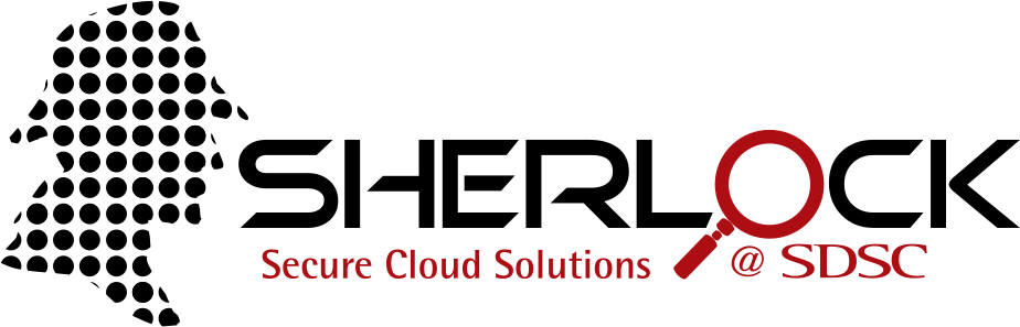 Sherlock Secure Cloud Solutions @ SDSC logo